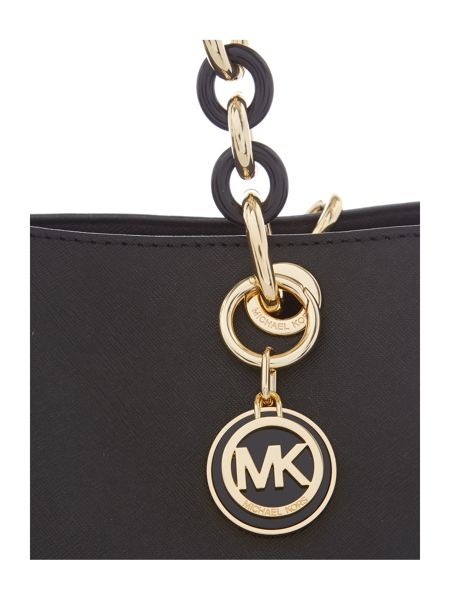 Michael Kors Cynthia black ew tote bag