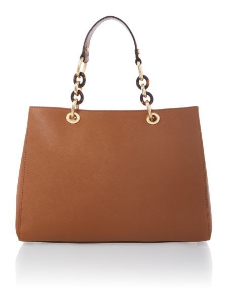 Michael Kors Cynthia tan ew tote bag