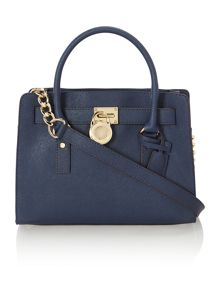 Hamilton navy cross body bag