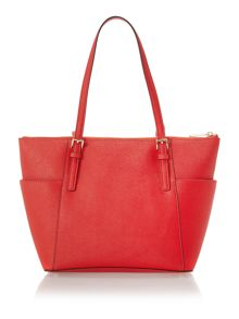 Jet Set Item orange tote bag