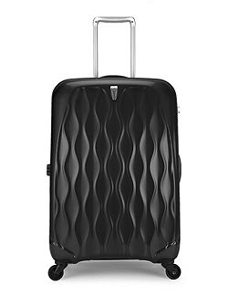 Liquis medium black suitcase