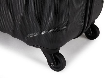 Antler Liquis medium black suitcase