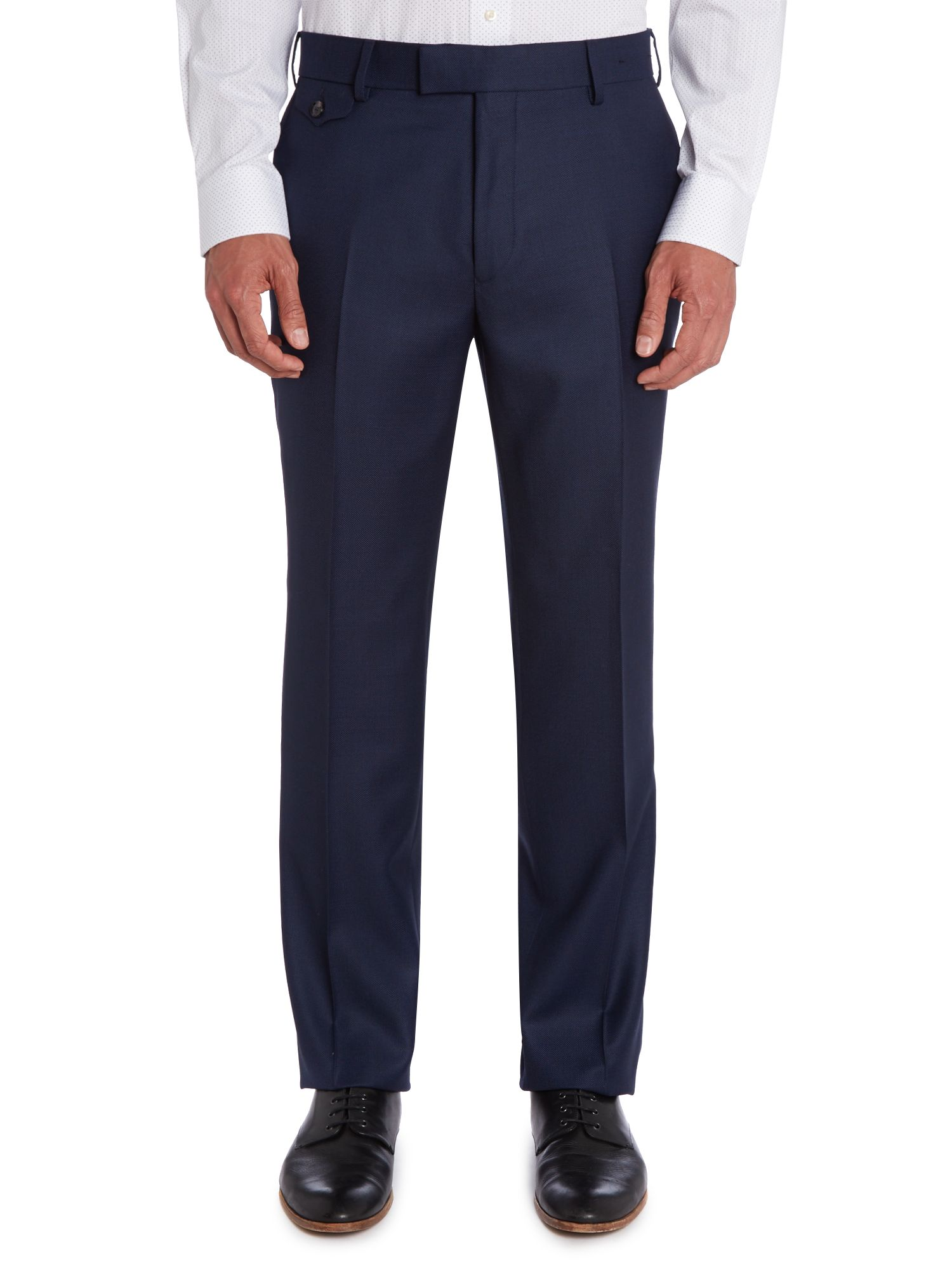 Foxdale sterling regular fit pindot trouser