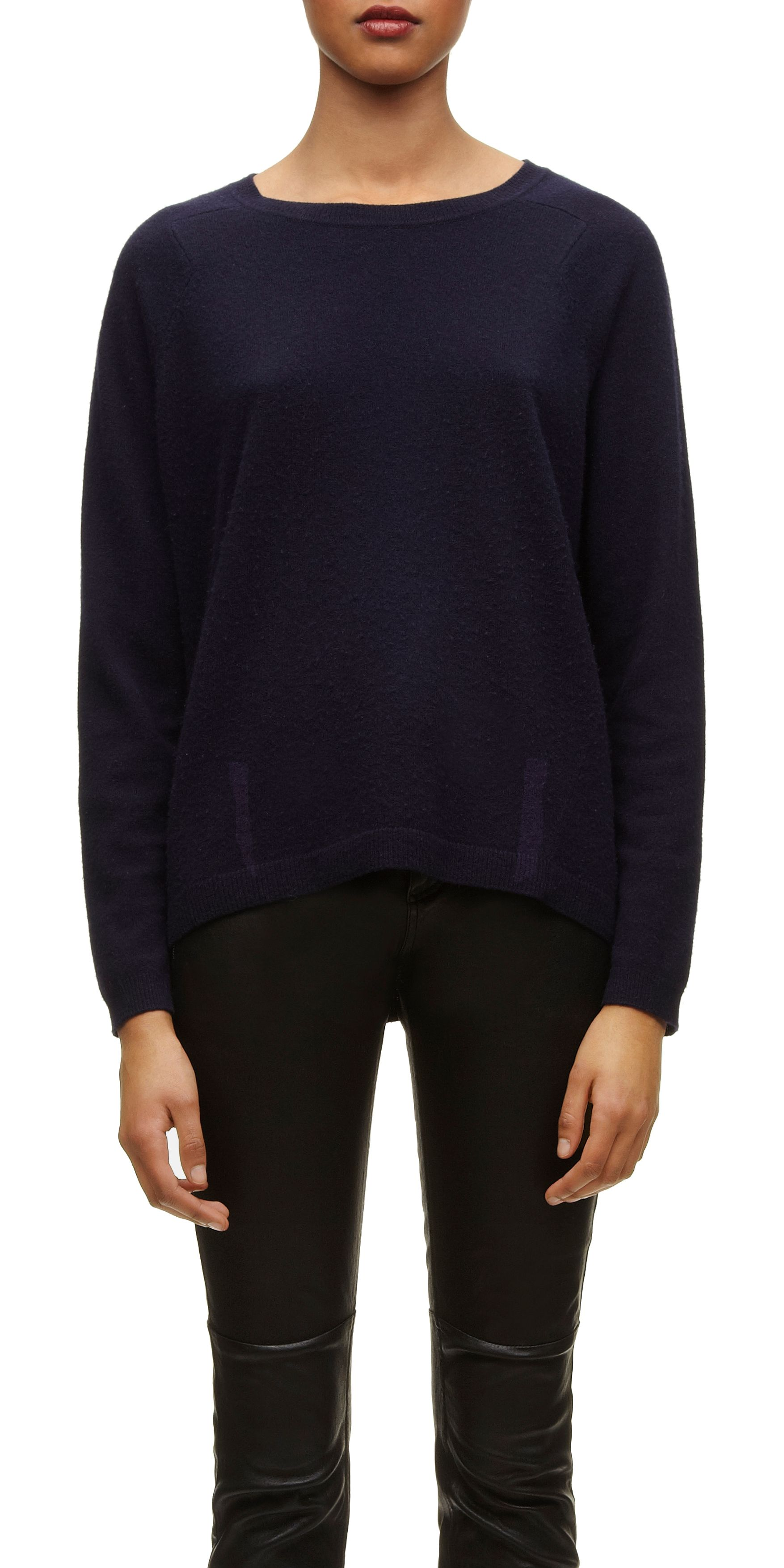 Rose Cashmere Boxy Jumper