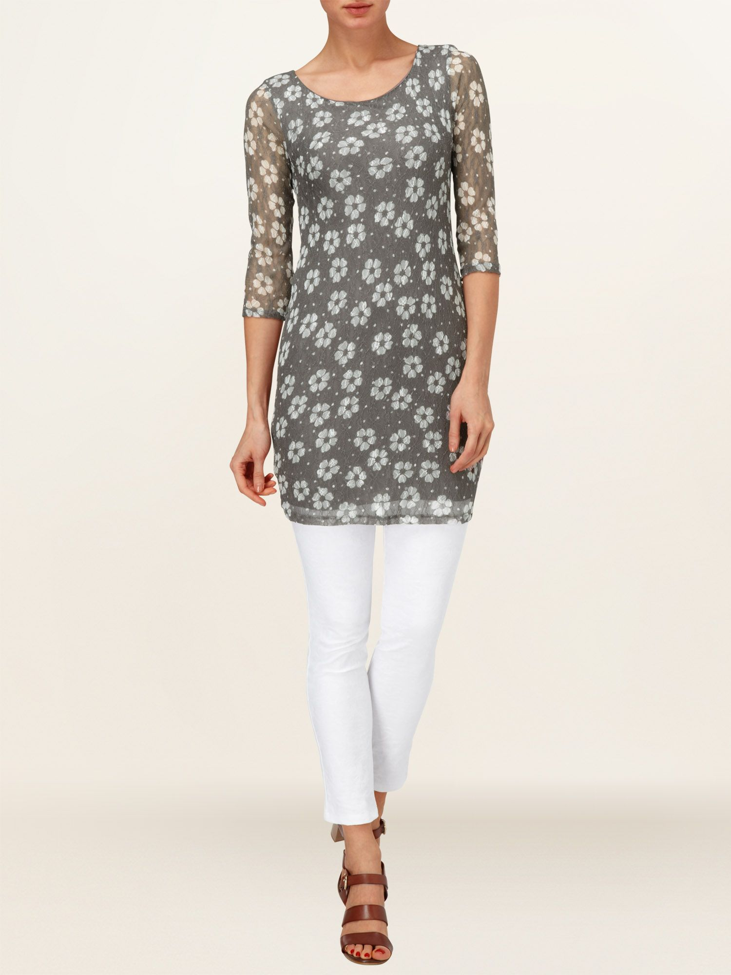 Daisy dot tunic