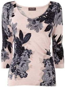 Horley Rose Print Jumper