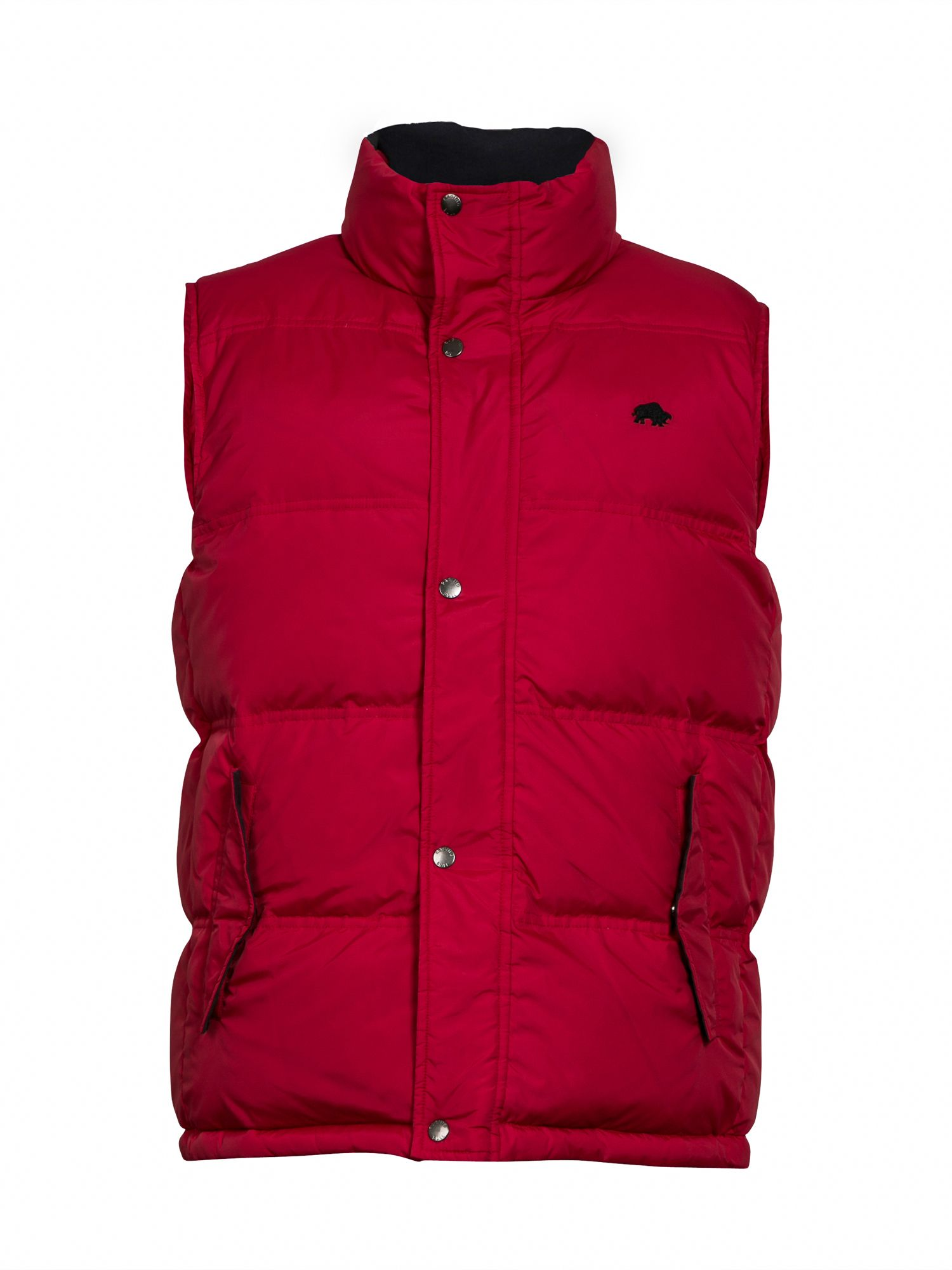 Casual zip reversible gilet