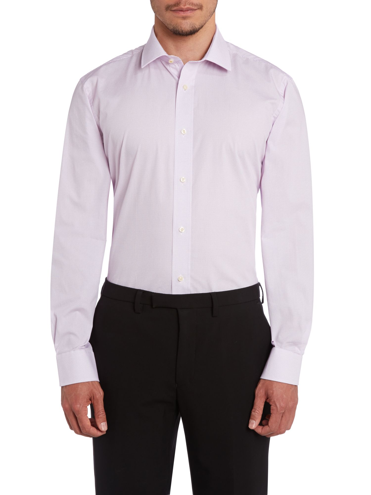 Parkend regular fit mini geometric shirt