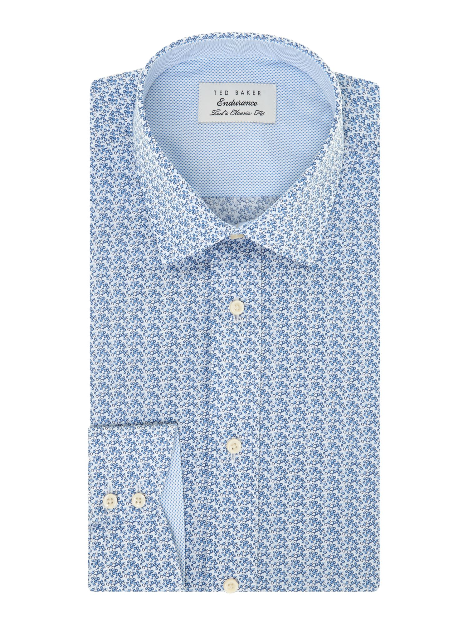 Redhill regular fit floral shirt