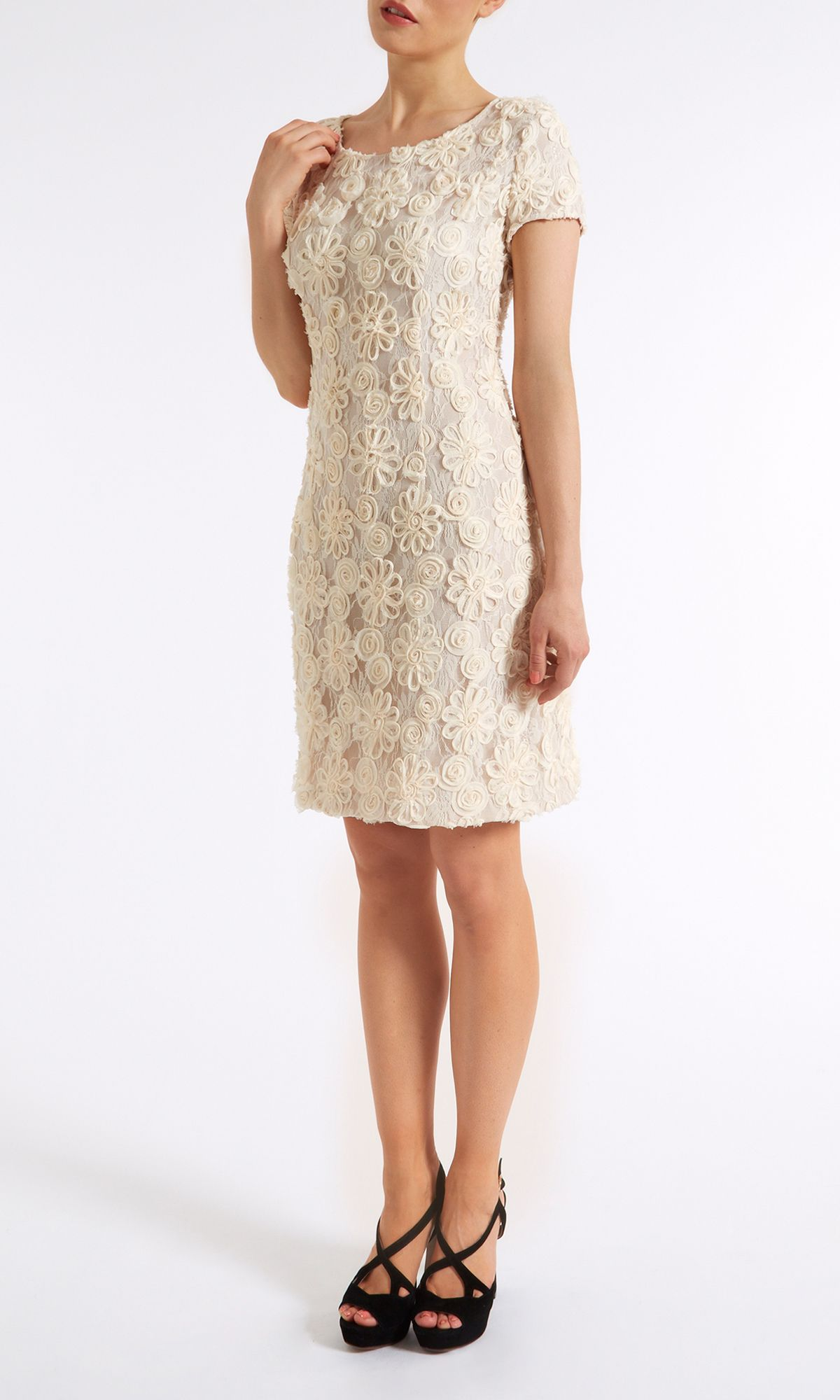 Tailored lace dress