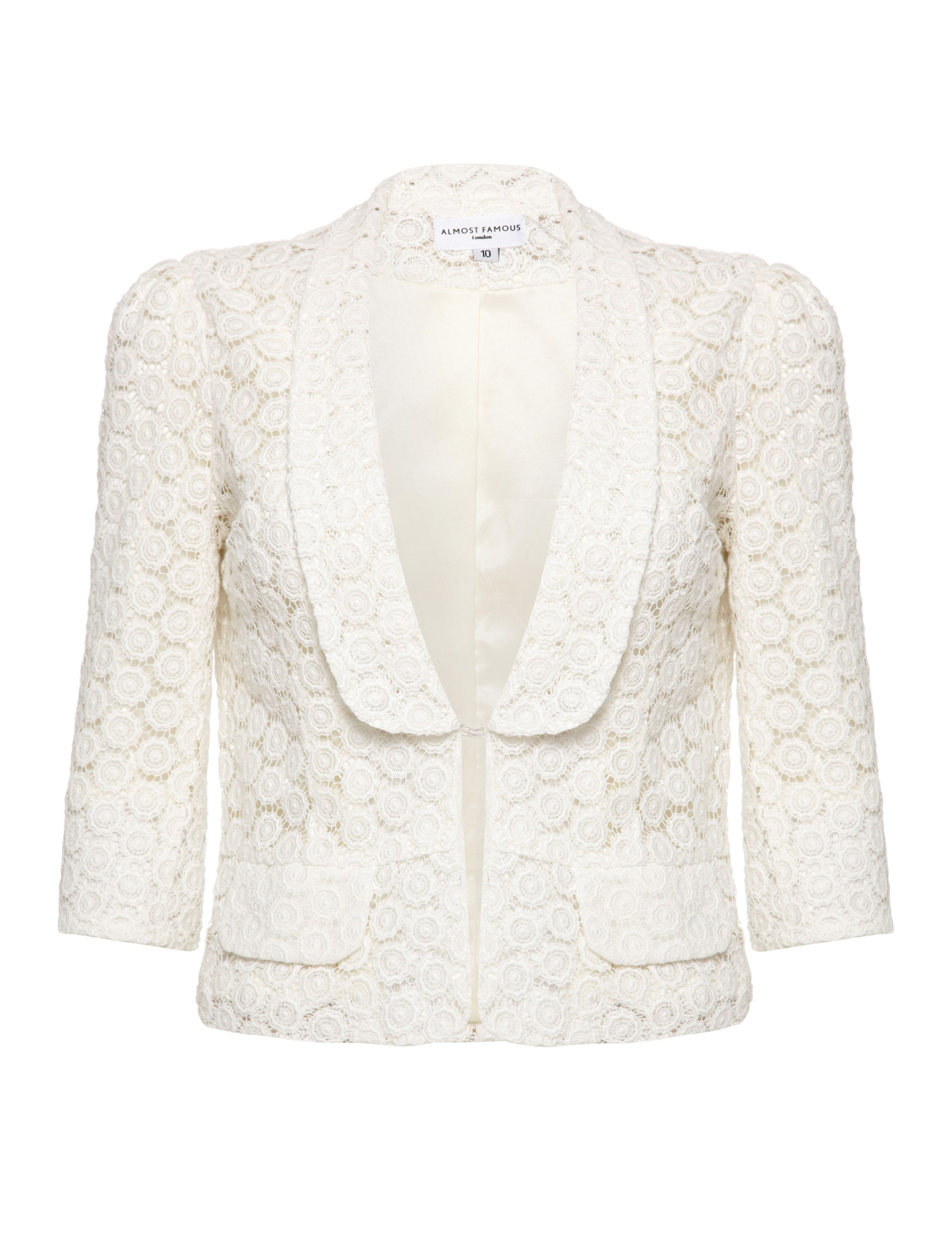 Lace occasion jacket