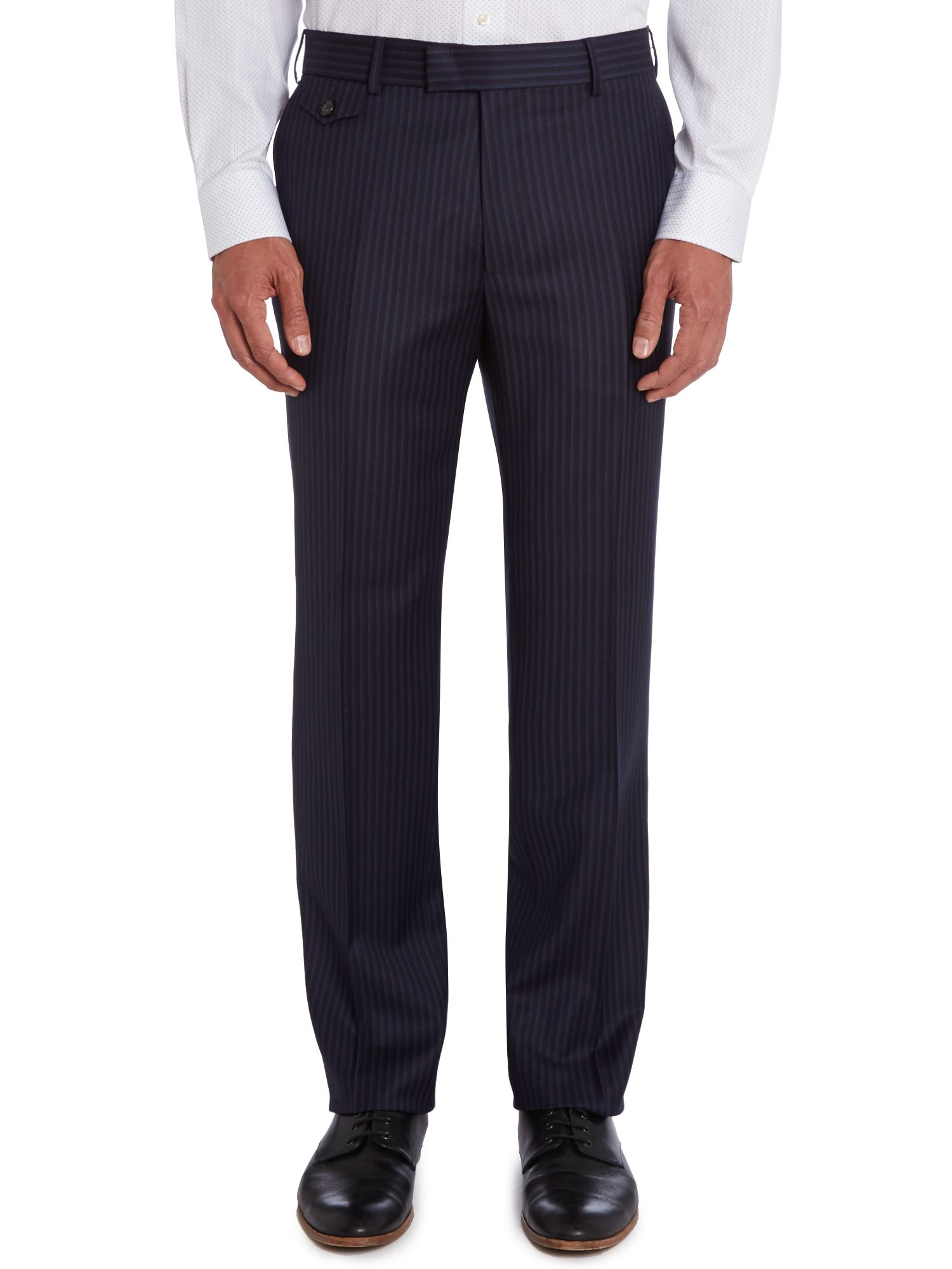Endex sterling regular fit shadowstripe trouser
