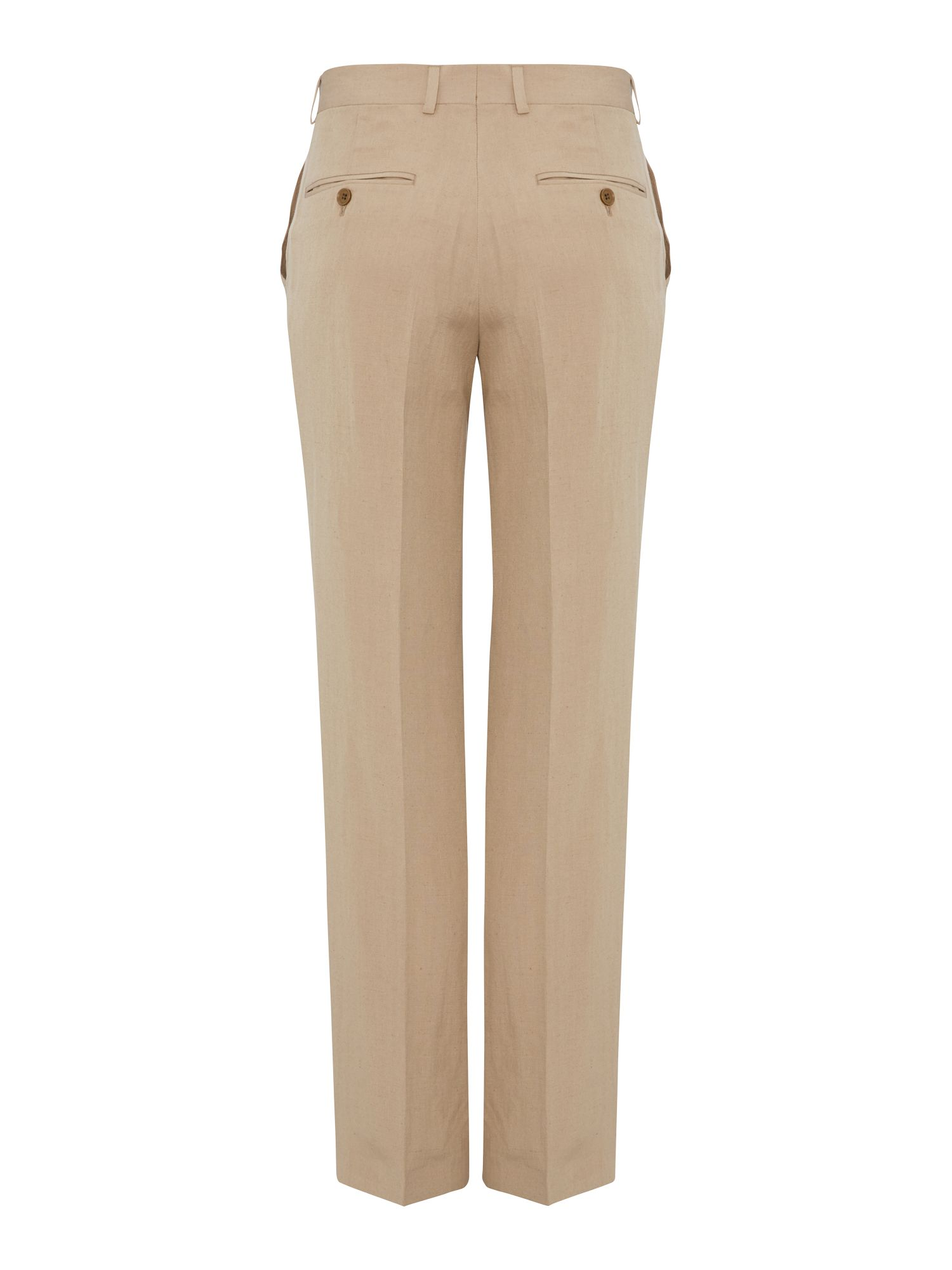 Silk linen formal tailored trouser