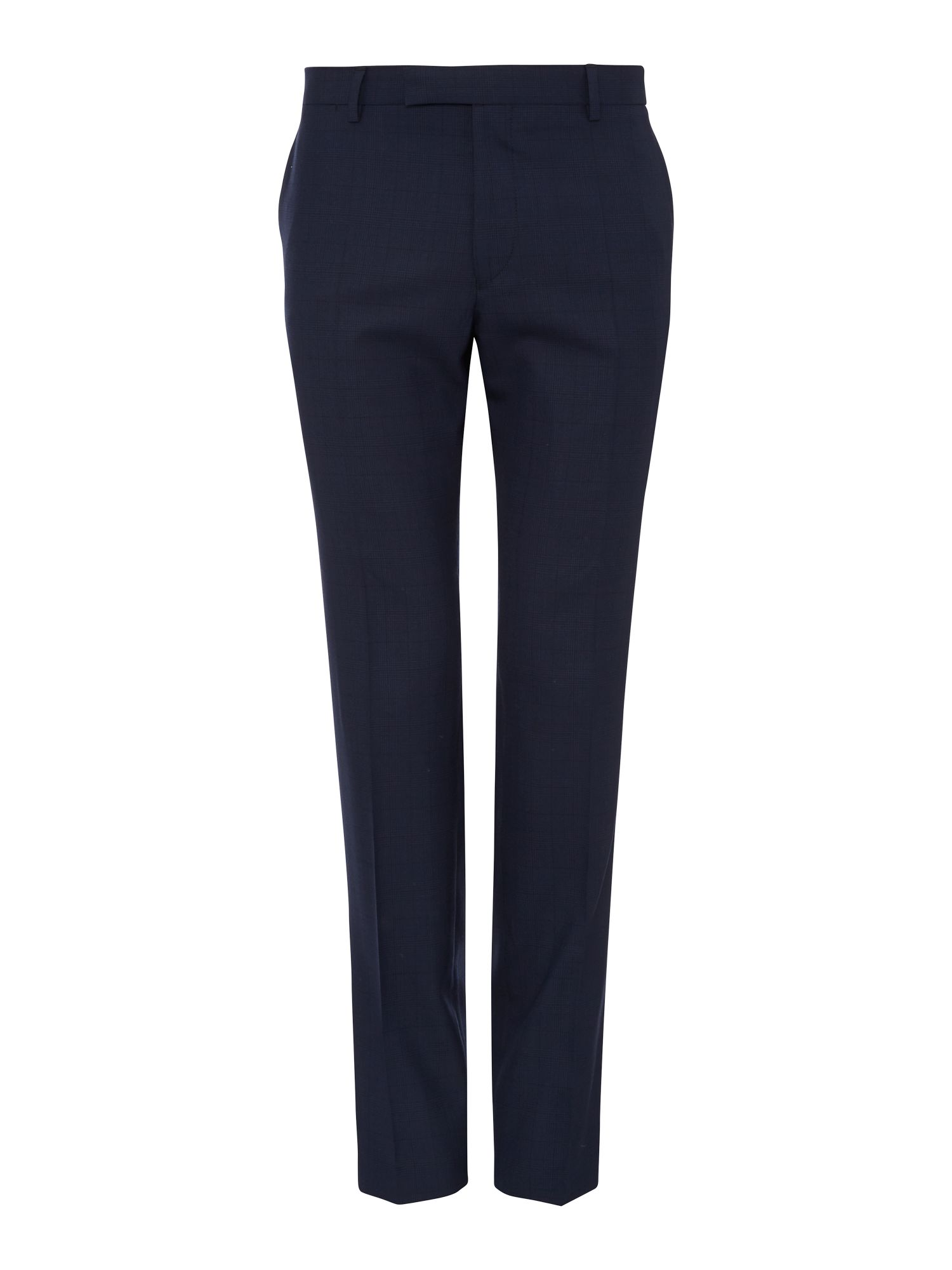 Wool and mohair formal tailored trousers