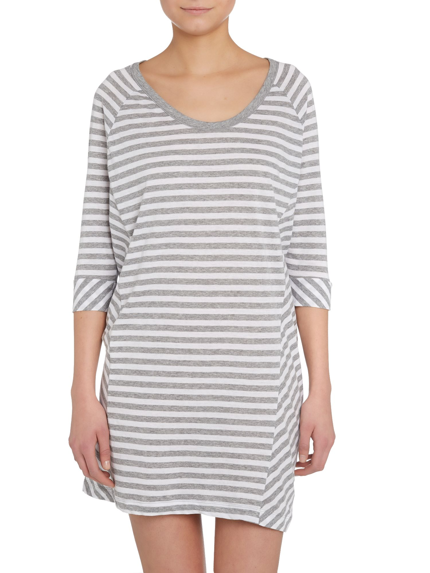Layering mixers crop sleeve sleepshirt