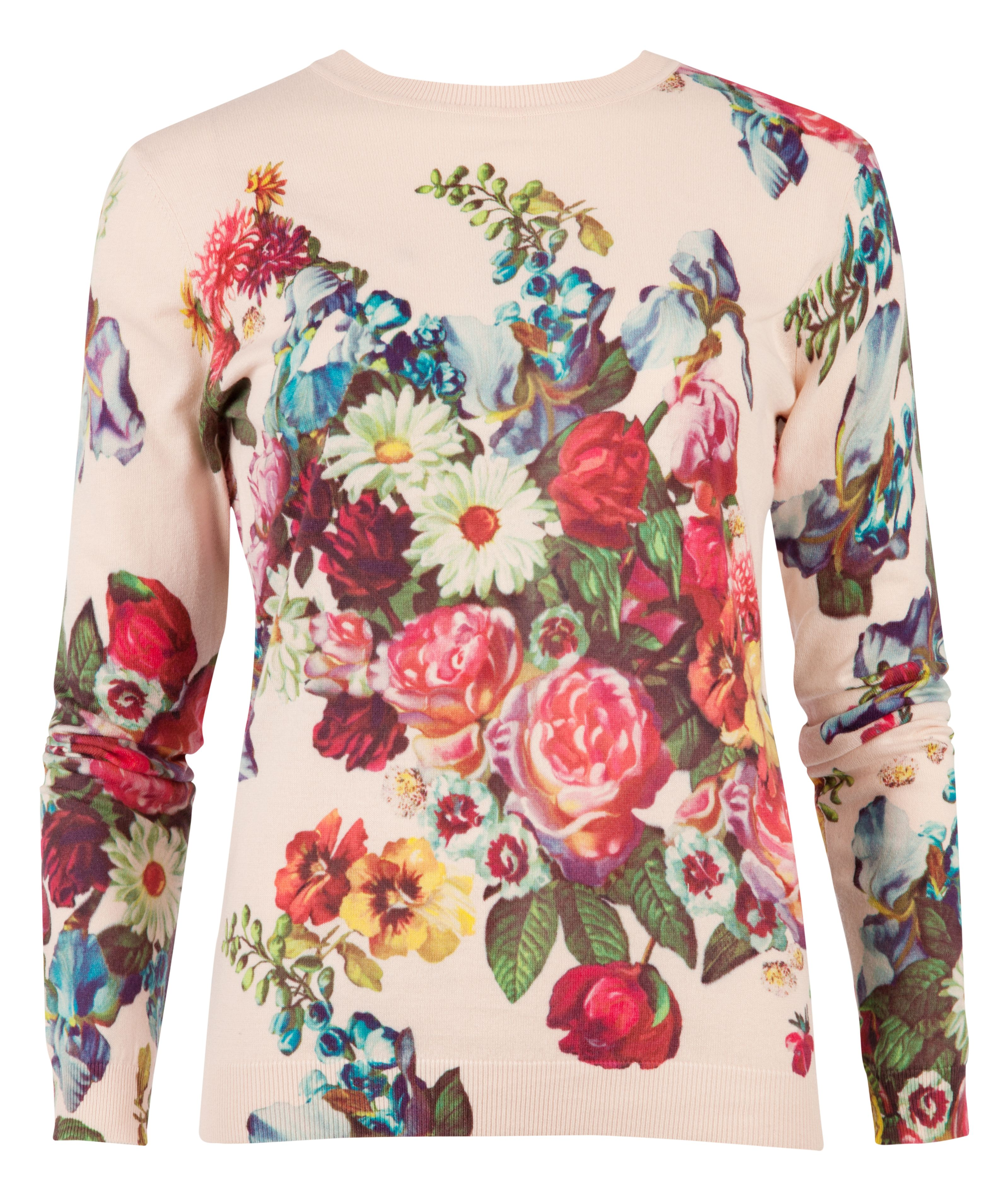 Edryss oil painting print jumper