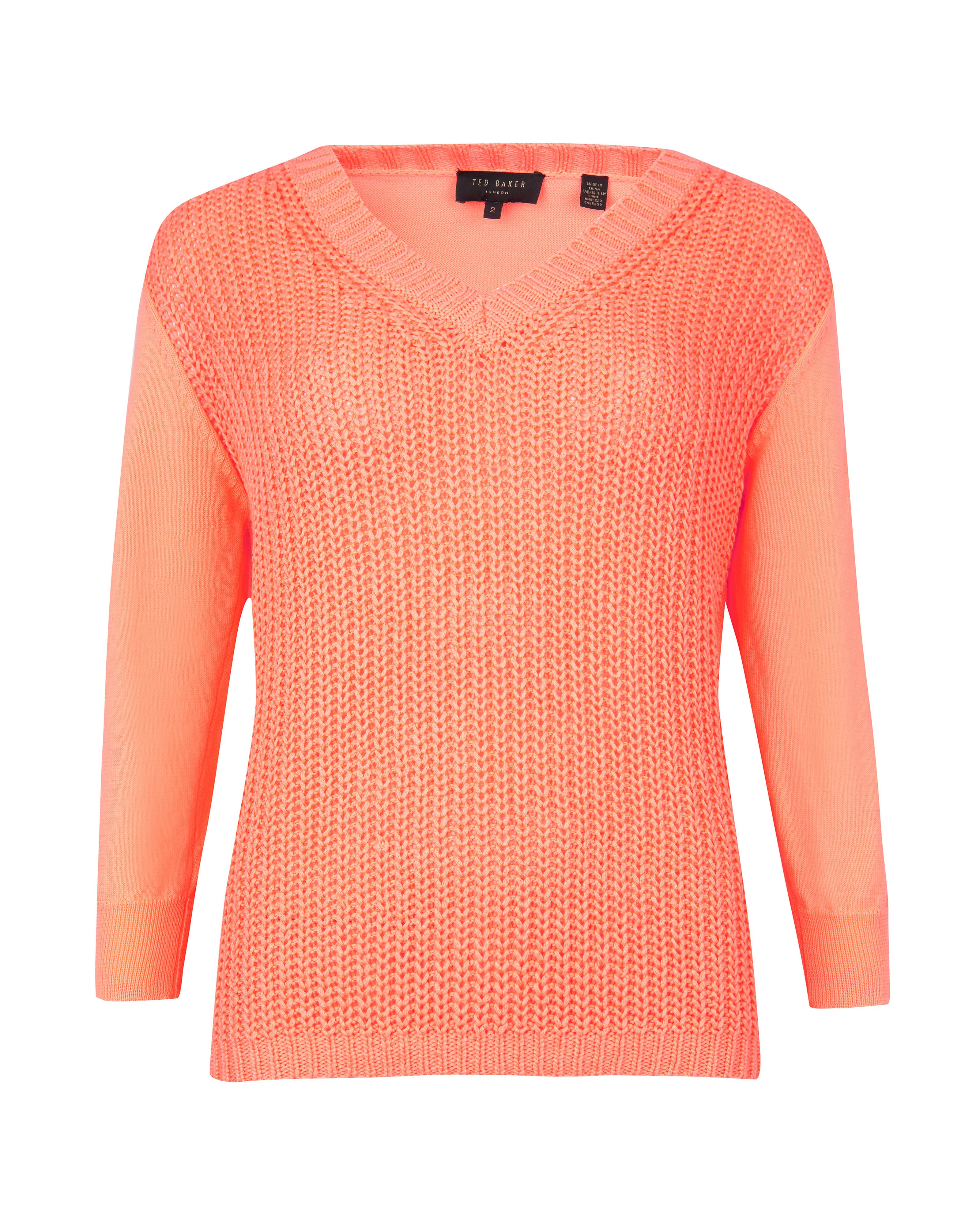 Lills neon knit jumper