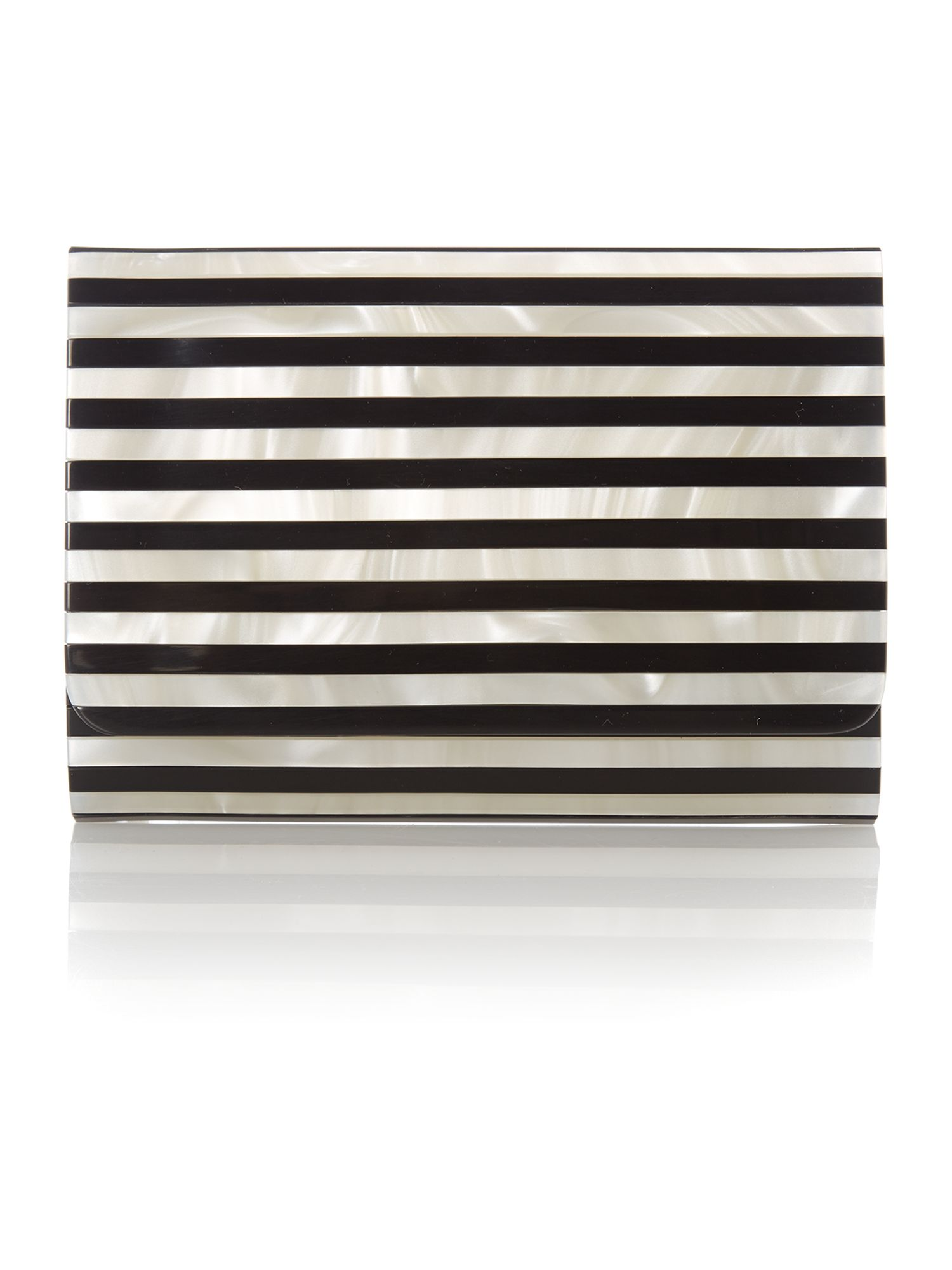 Natalia multi-coloured small clutch bag