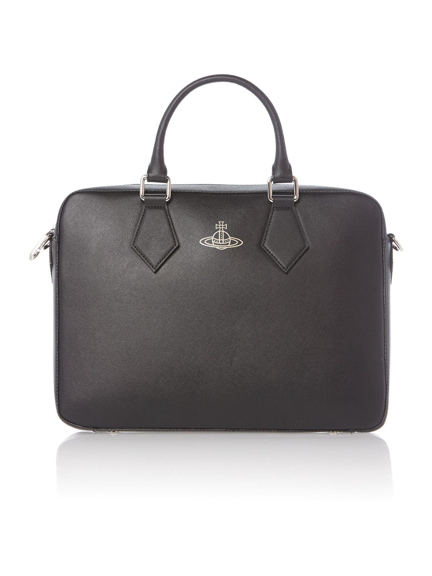 Saffiano document bag