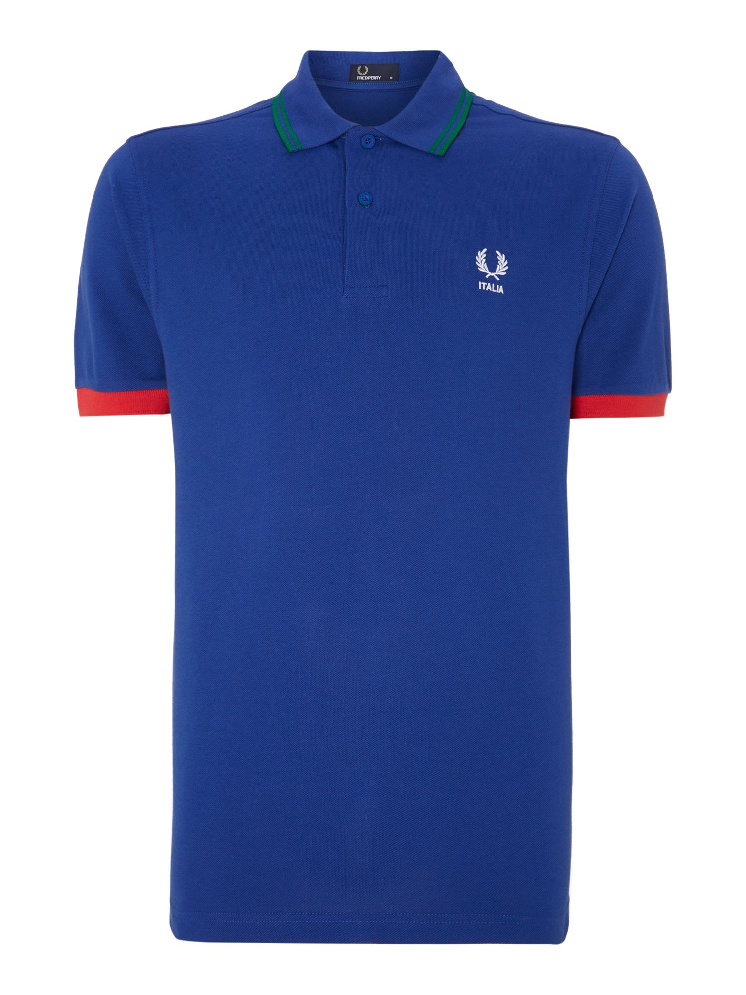 Men&39s Fred Perry Italy BWC polo shirt Blue