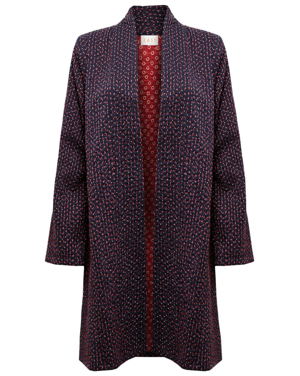 Emi stitch coat