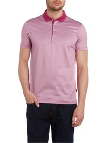Hugo Boss Mercerised fine line polo shirt