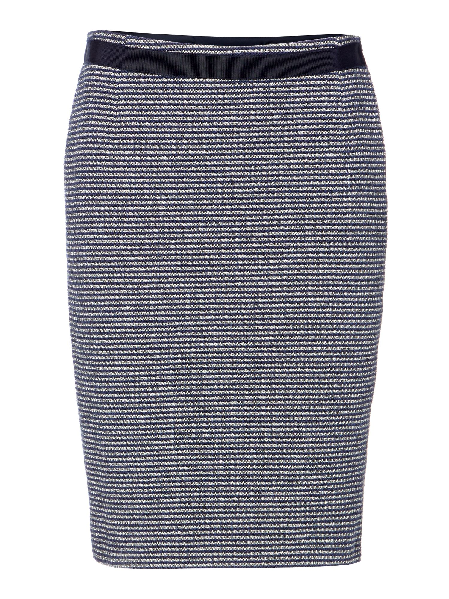 Acqua boucle pencil skirt