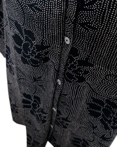 East Ren print blouse