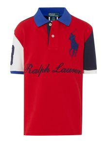 Boys signature polo shirt