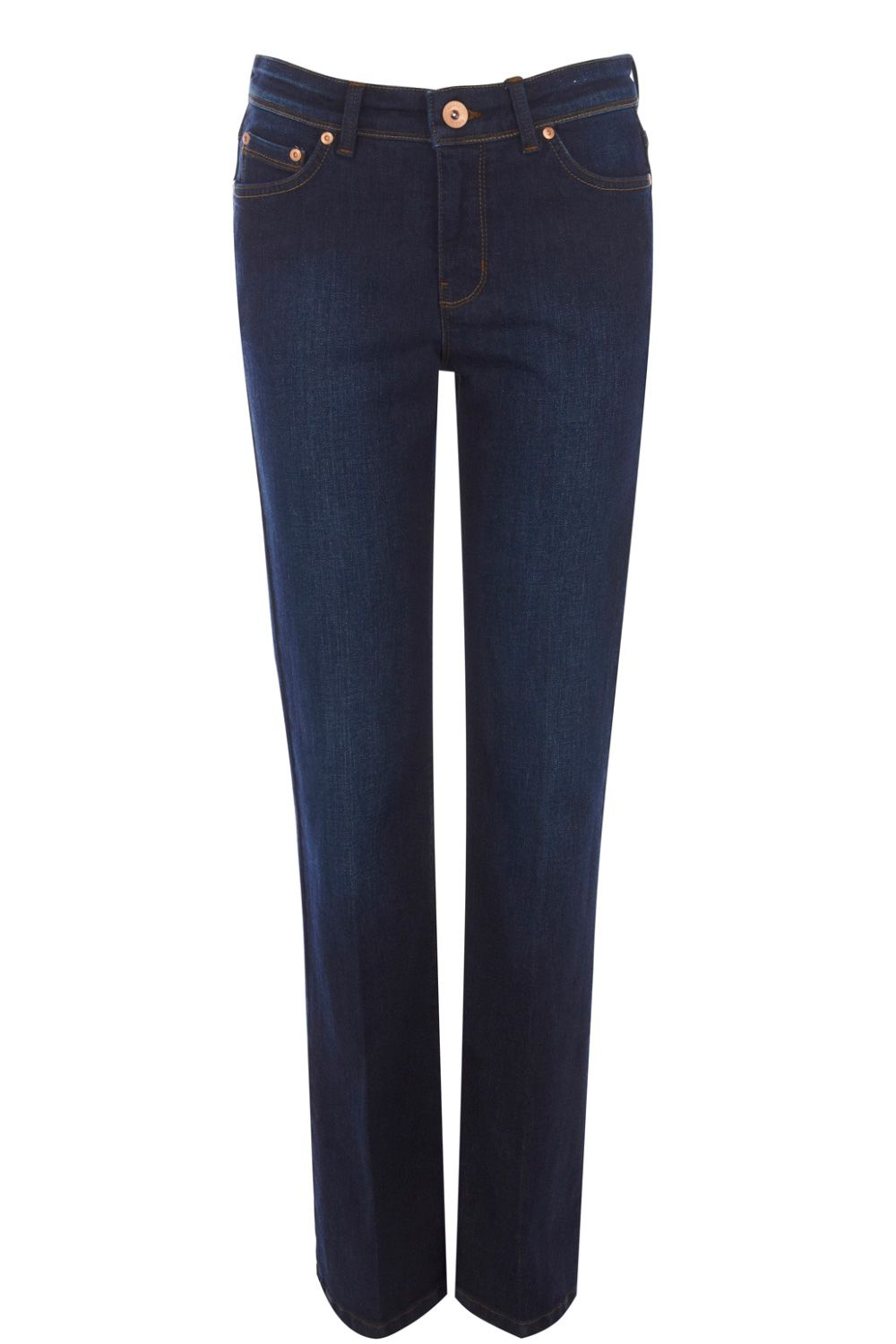 Regular rinse wash bootcut jeans
