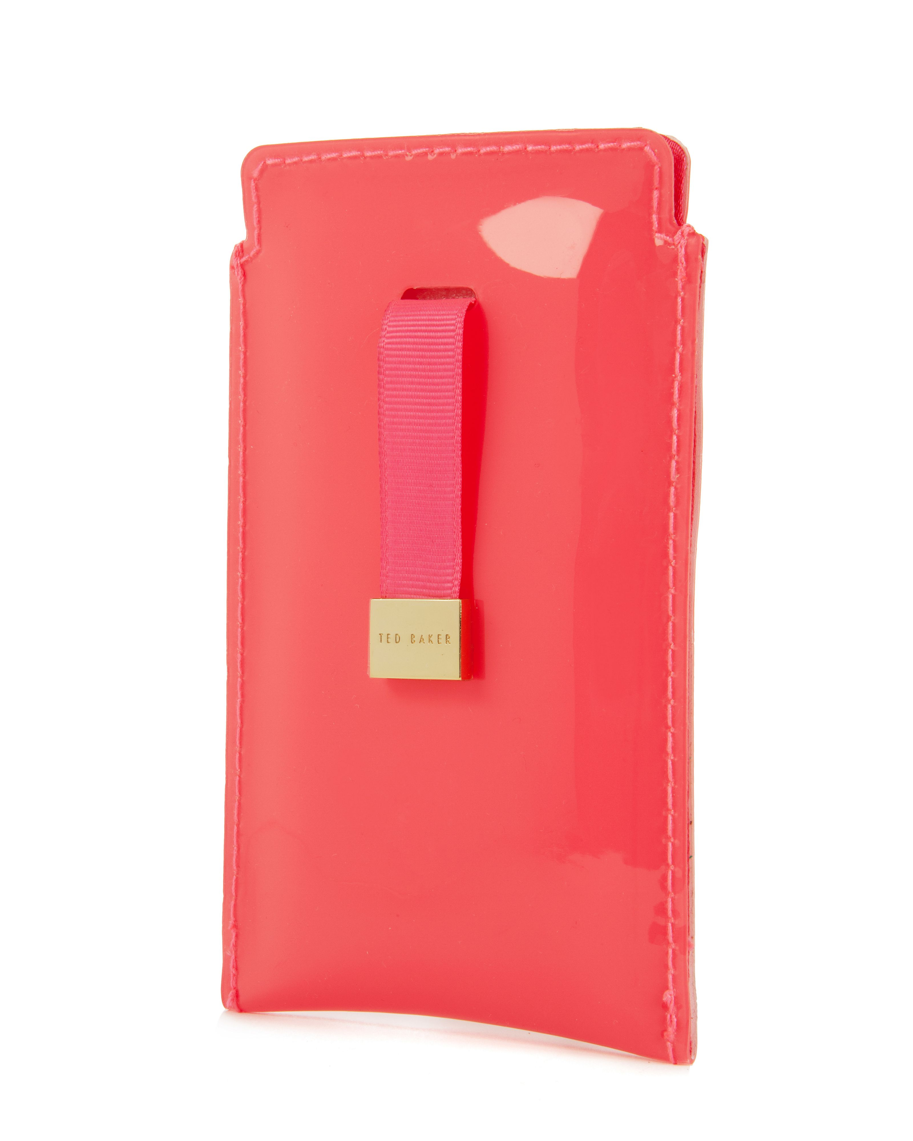 Petri bow phone sleeve
