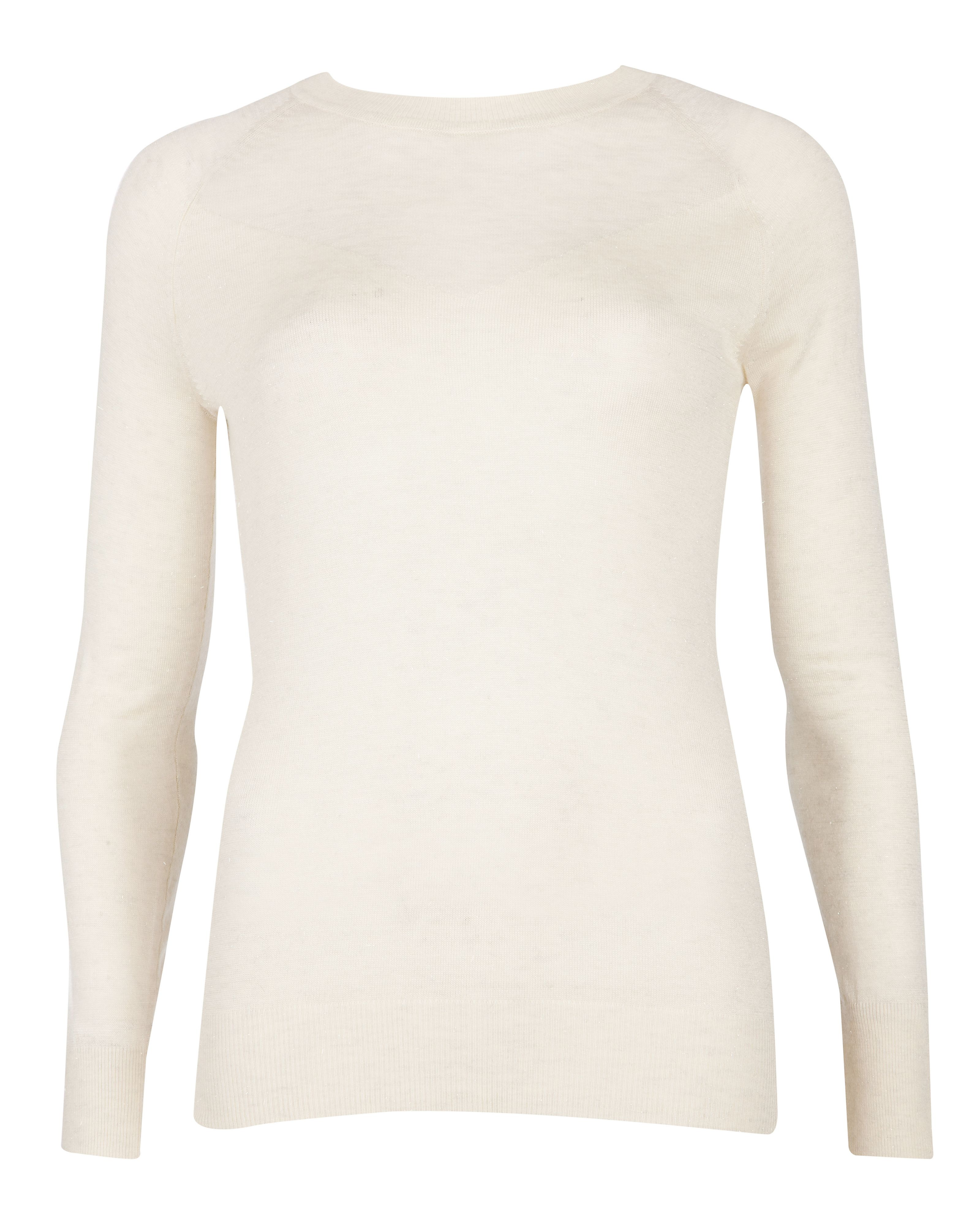 Tereesa sheer panel sweater
