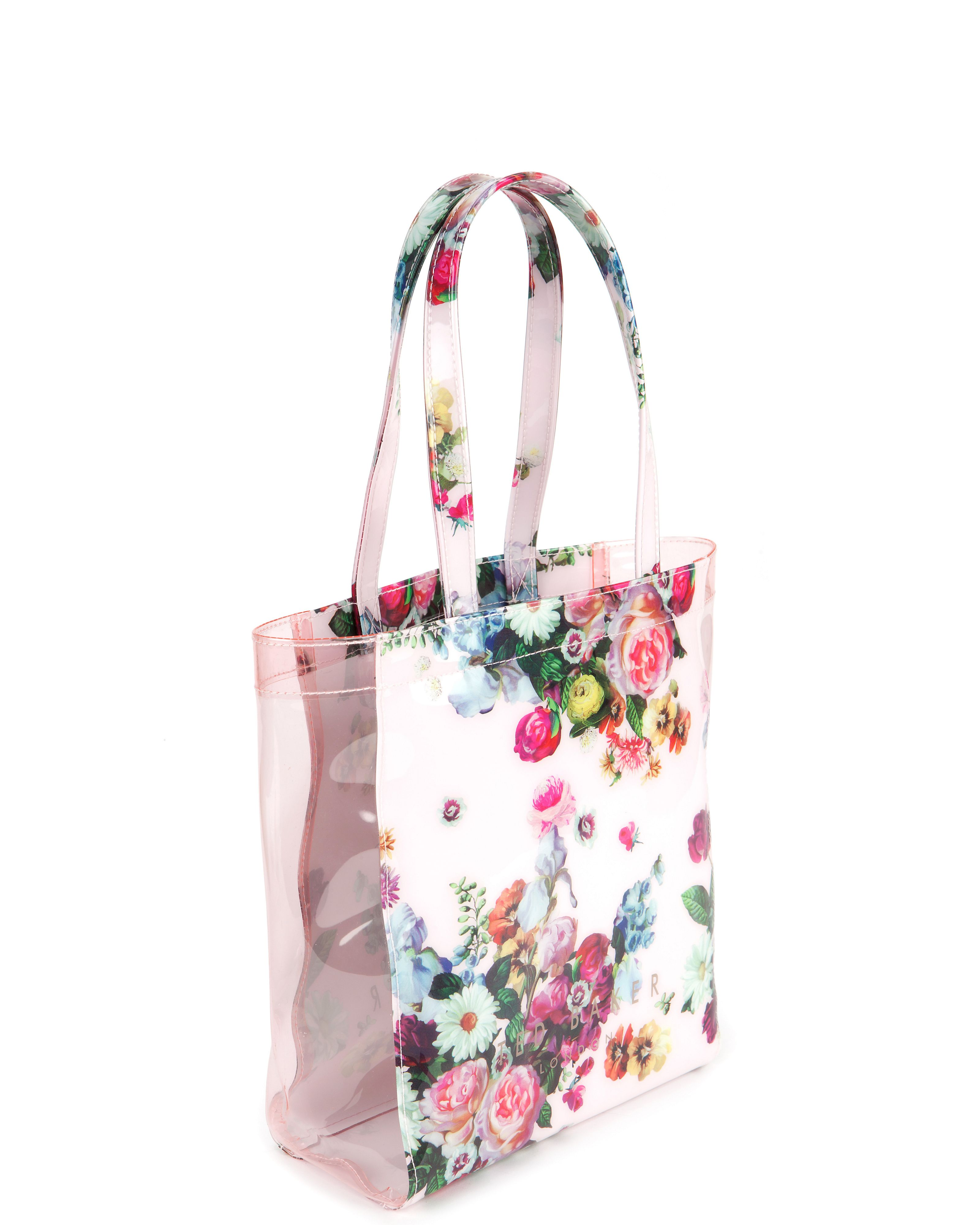 Oliocon floral printed shopper