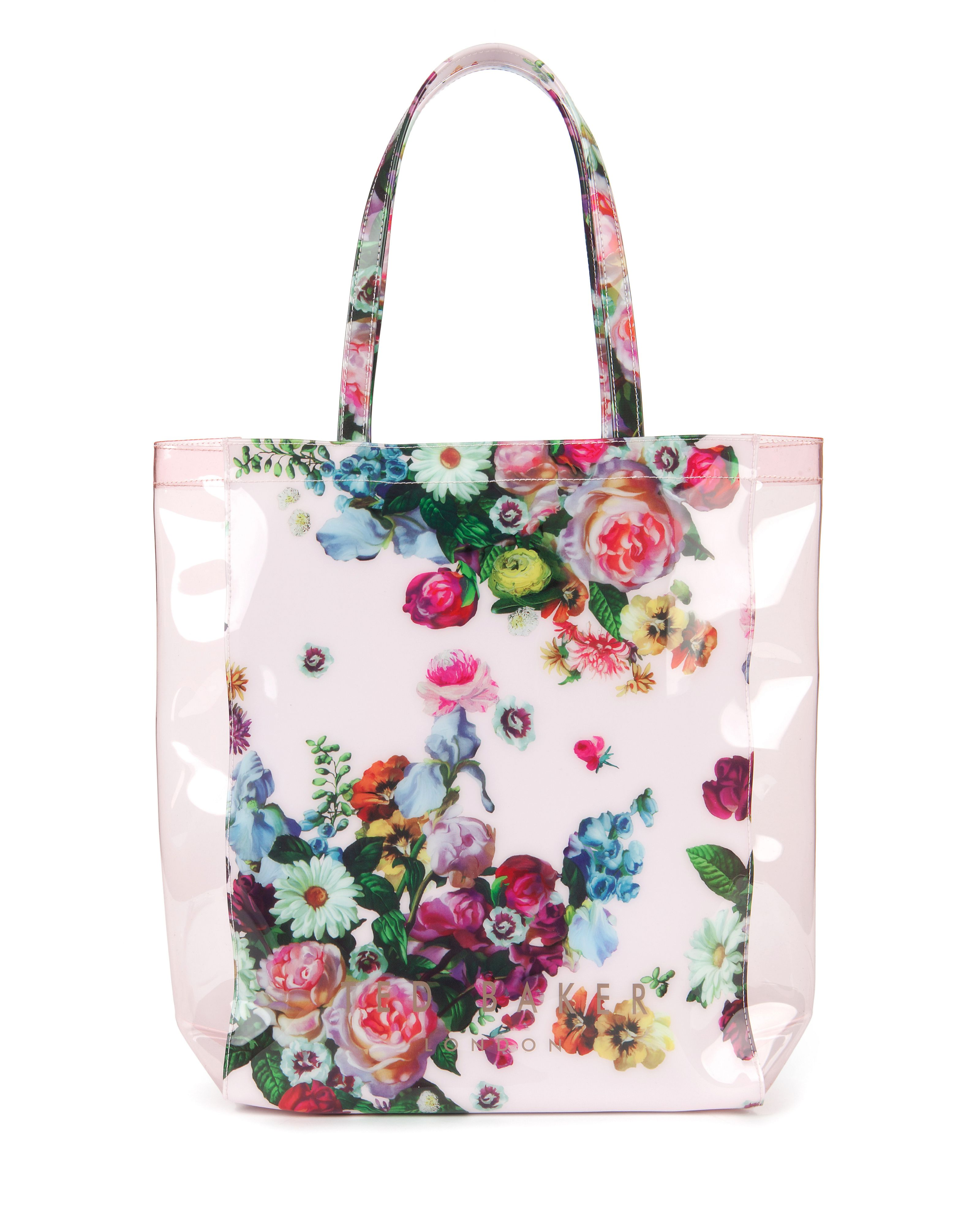 Taincon floral printed shopper