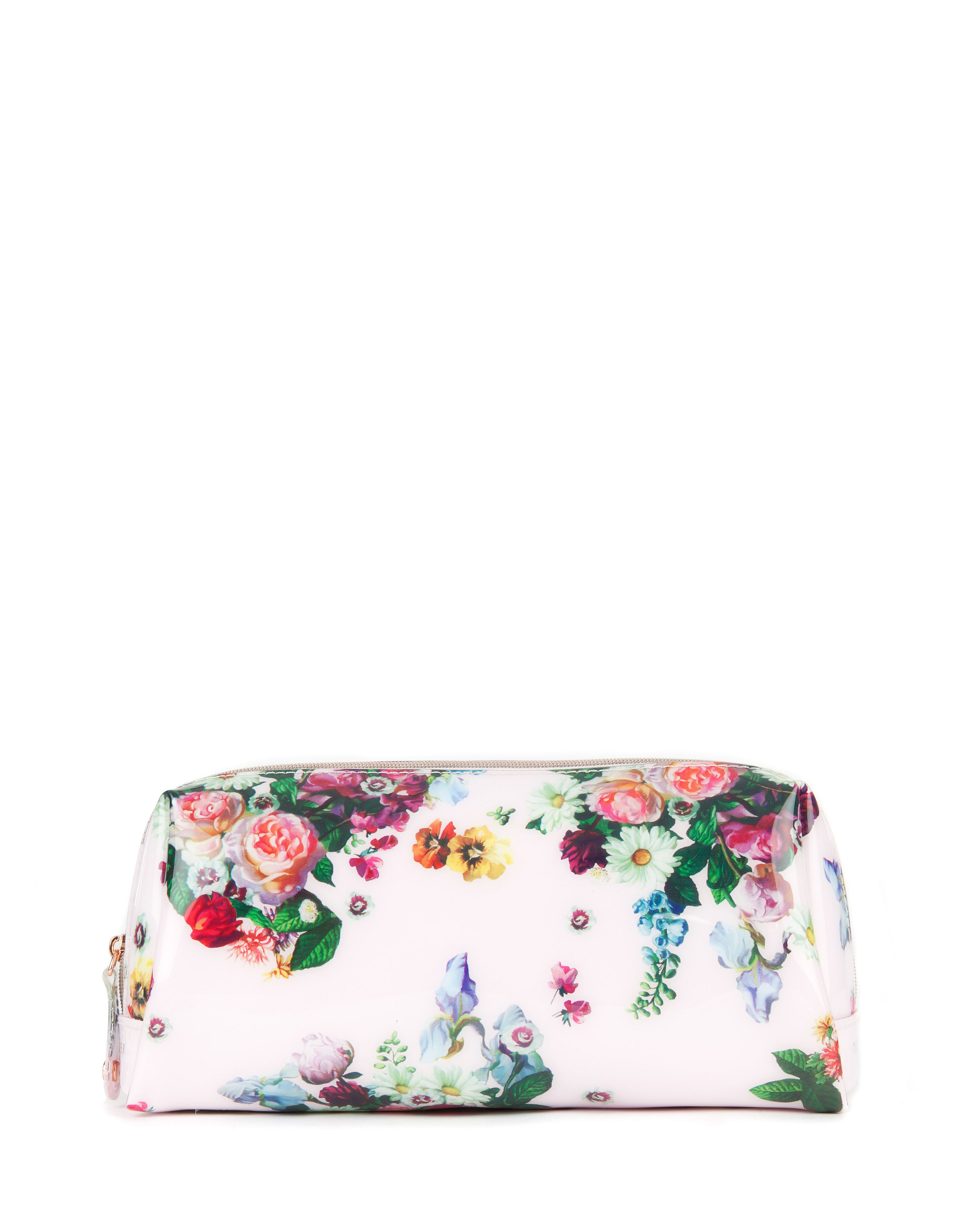 Anza floral wash bag