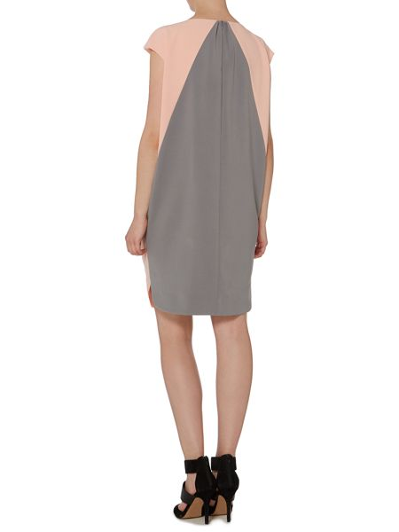 Pied a Terre Colour block cocoon dress