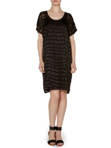 Pied a Terre Devore Dress