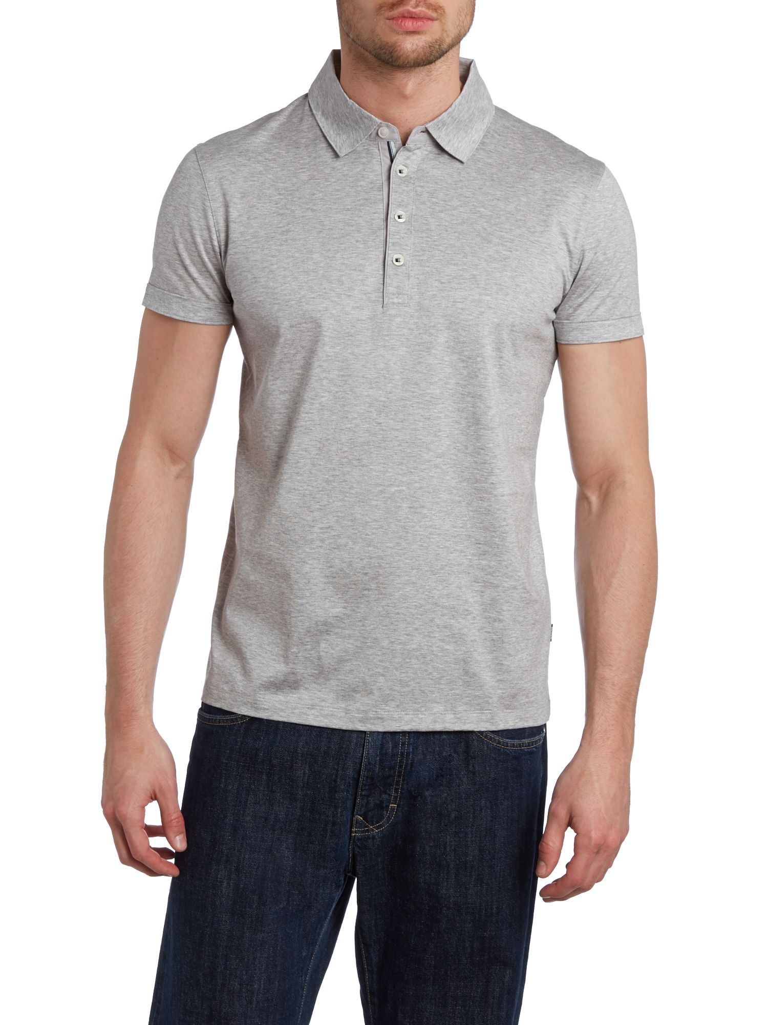 Mercerised polo shirt