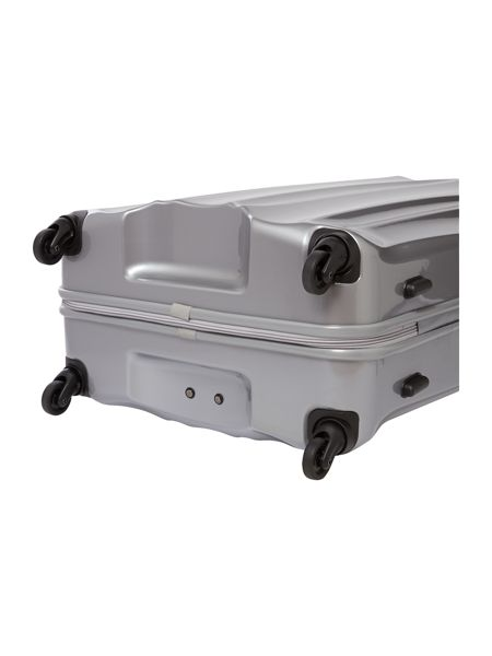 Antler Tiber silver 4 wheel soft medium rollercase