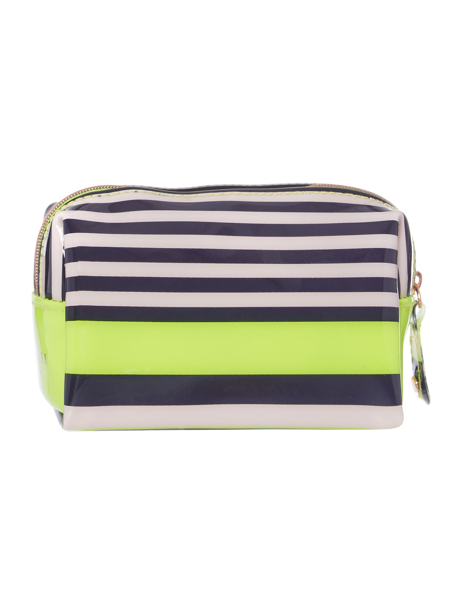 Nautical mini bow cosmetic bag