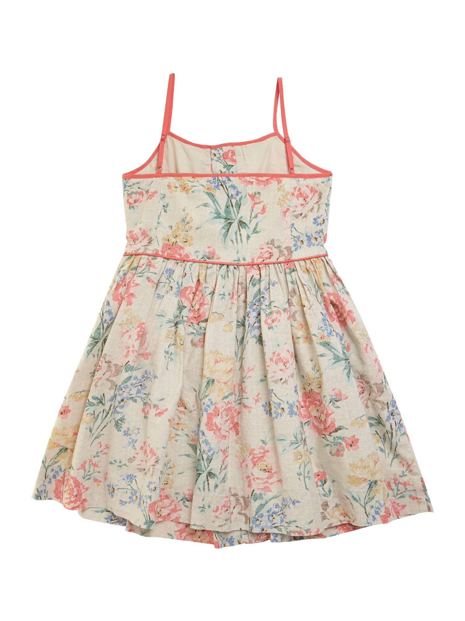 Girls vintage floral dress