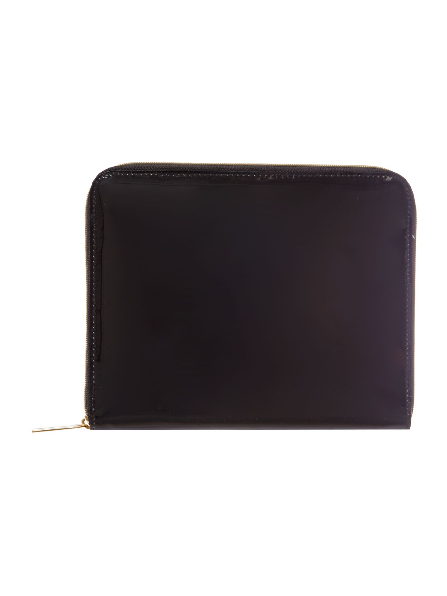 Black bow weave ipad case