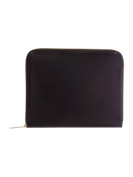 Ted Baker Black bow weave ipad case