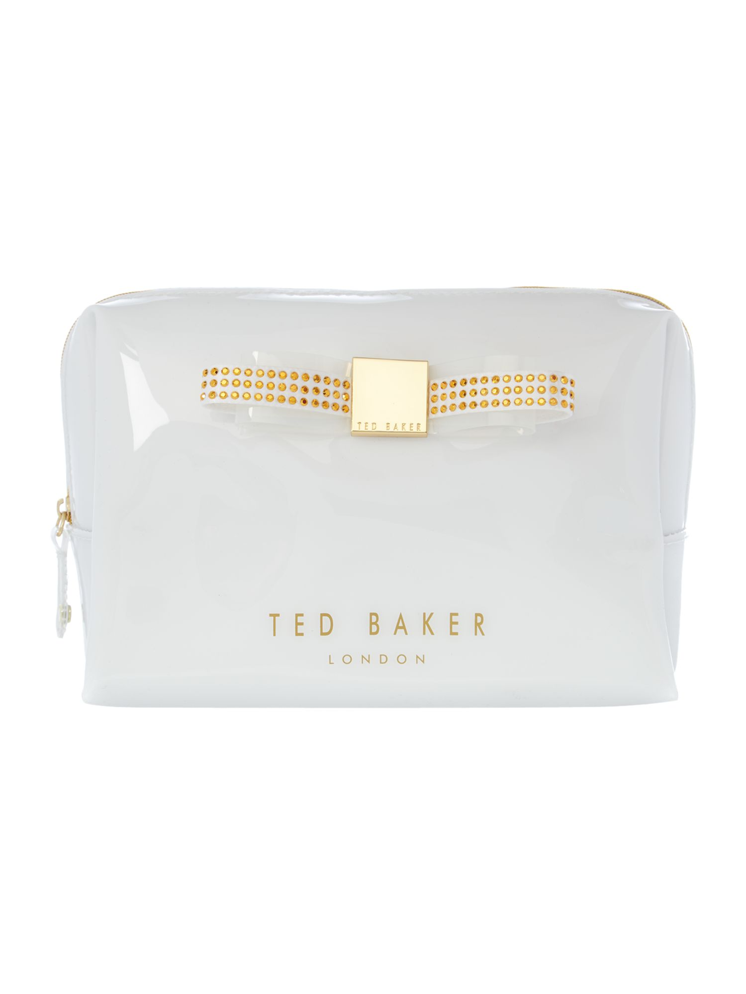 White large cosmetic bag