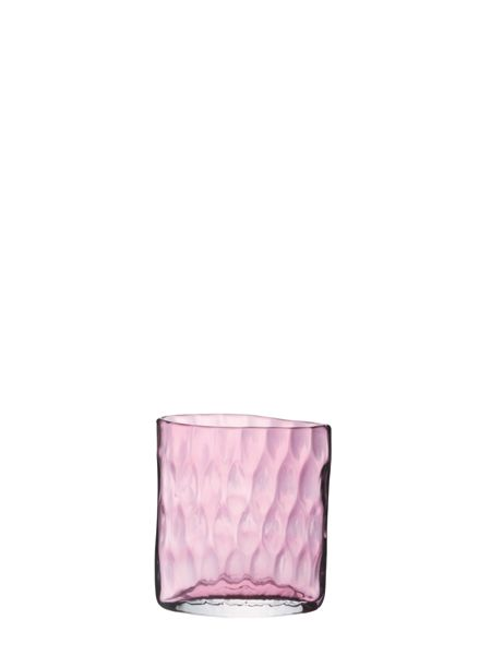 LSA Tulle vase height 21cm in pale heather