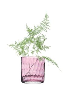 Tulle vase height 21cm in pale heather