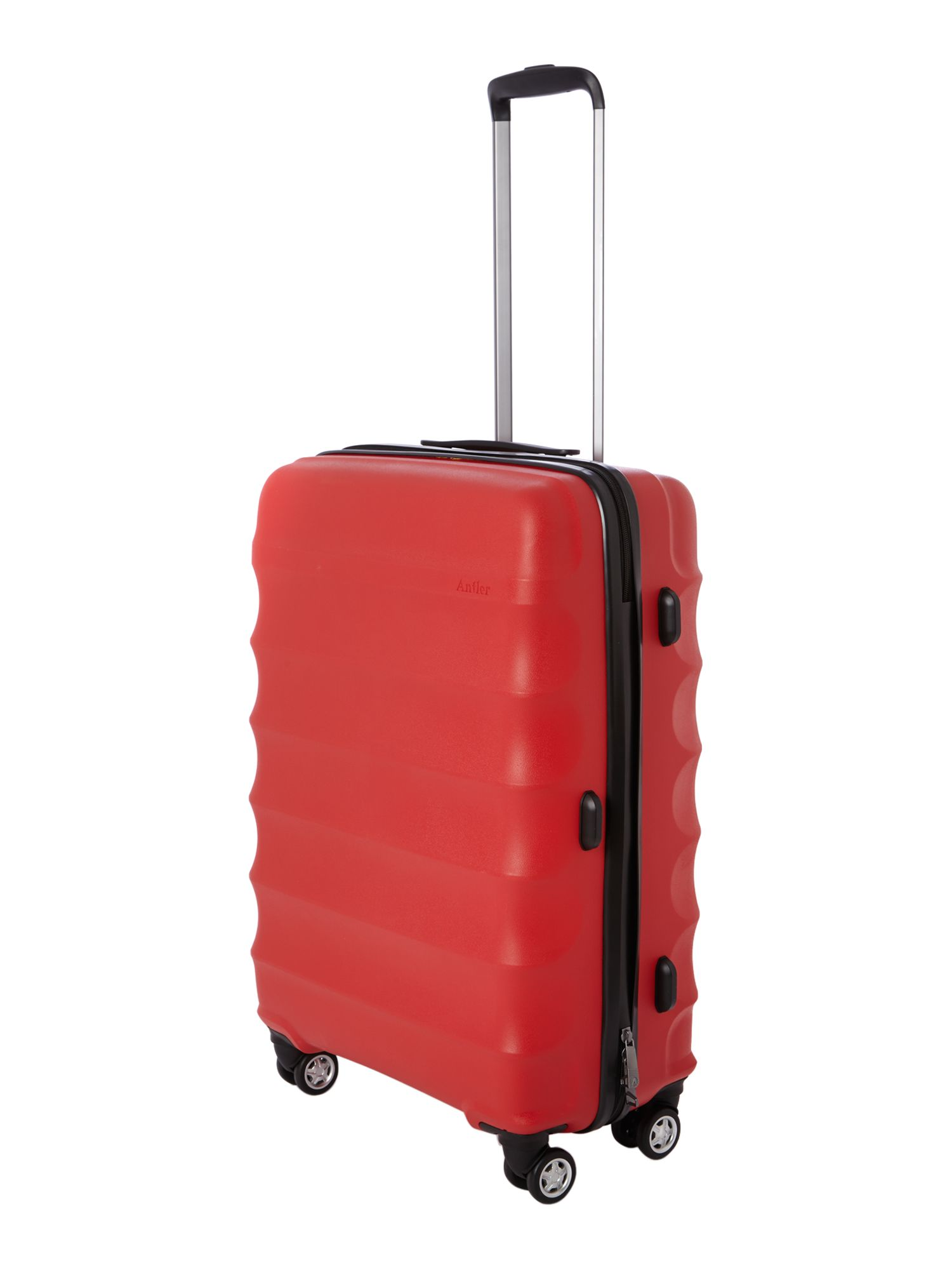 Juno 4 wheel red hard medium rollercase
