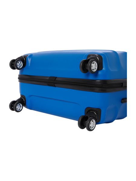 Antler Juno 4 wheel blue hard medium rollercase