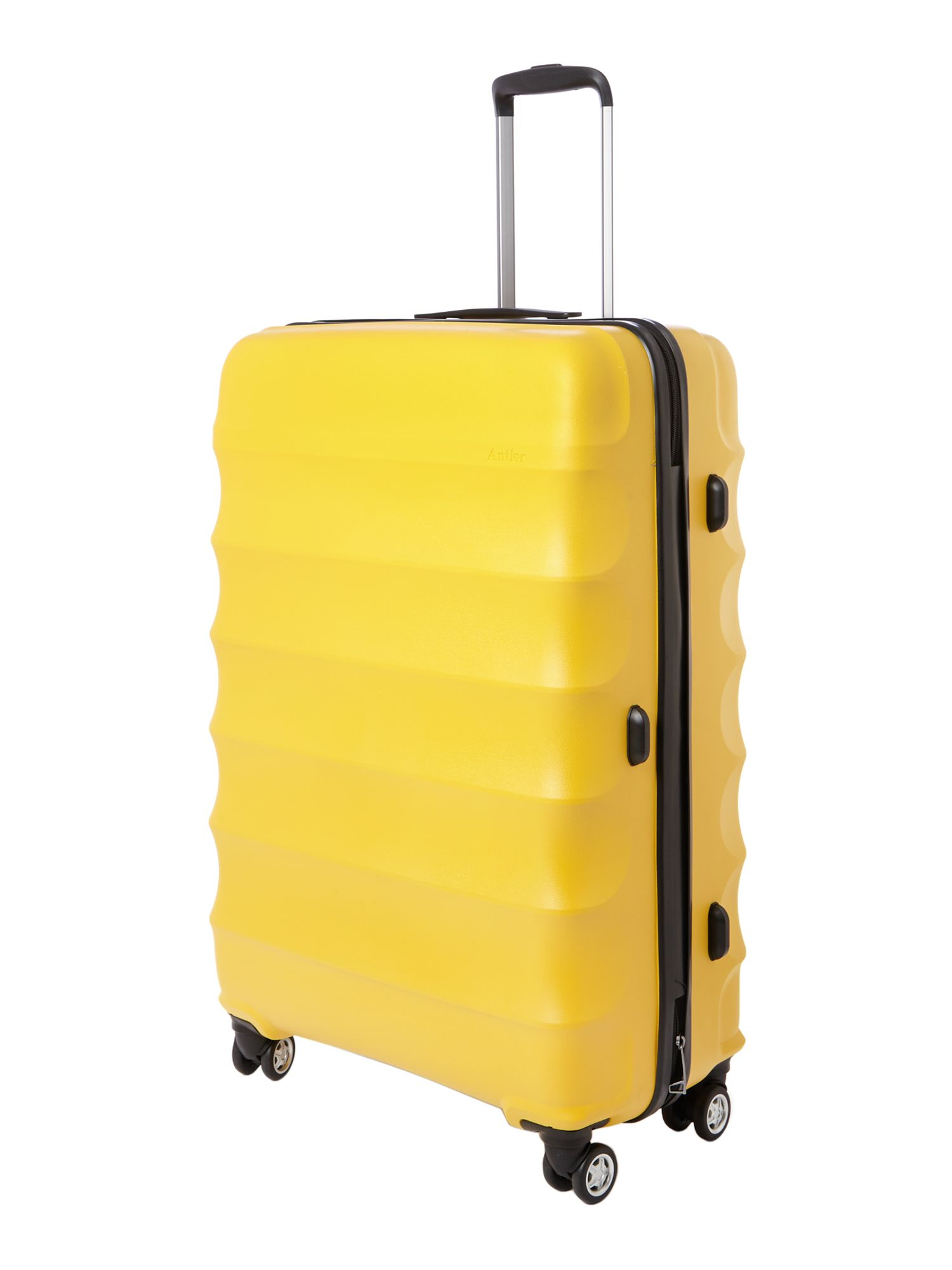 Juno 4 wheel yellow hard large rollercase