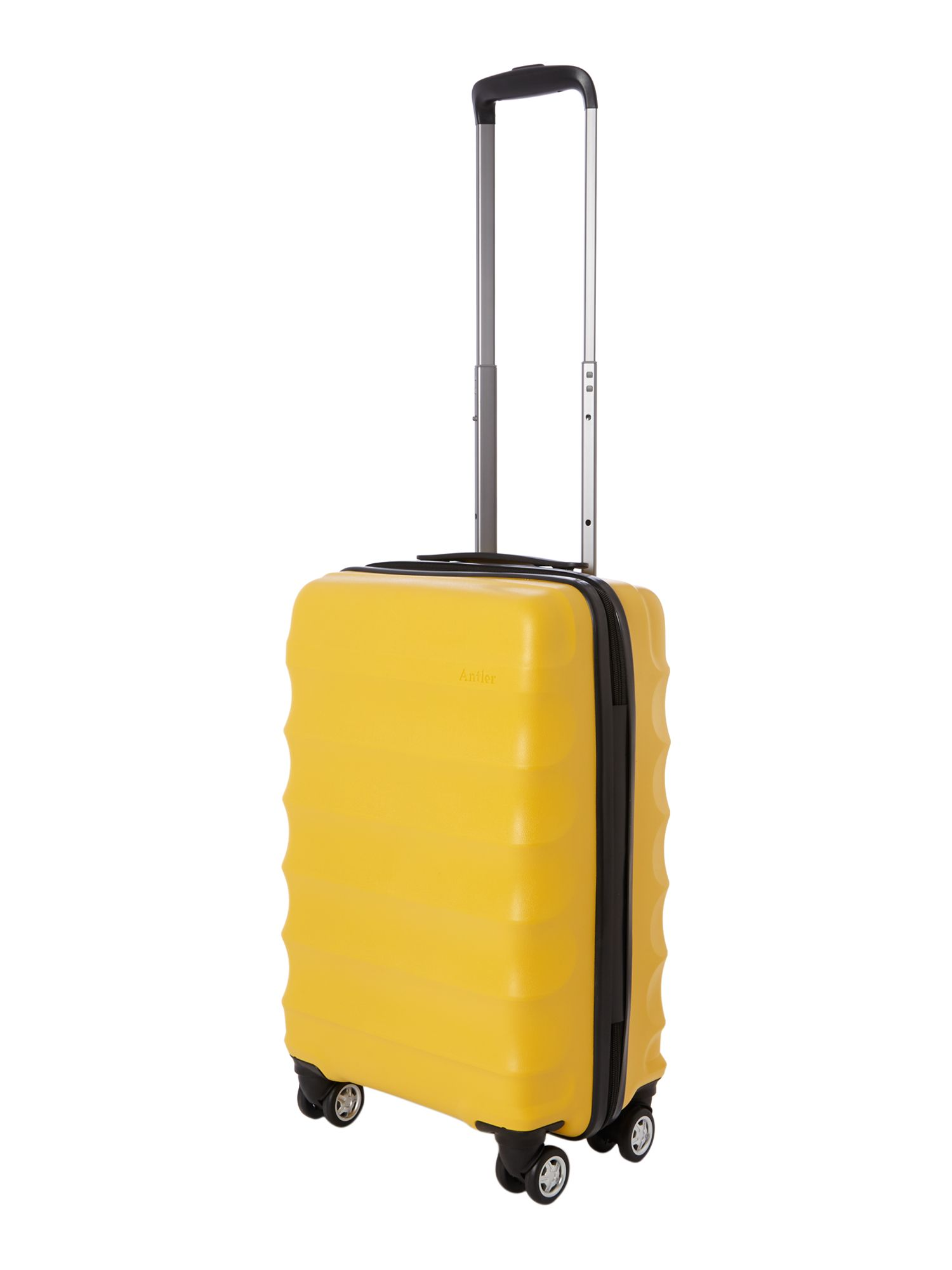 Juno 4 wheel panel yellow hard cabin rollercase